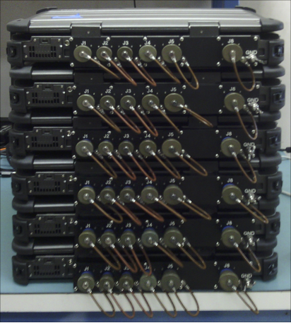 All ports and power connections converted to mil spec waterproof connectors