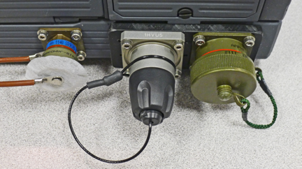 Waterproof computer with ethernet fiber and power sealed connectors