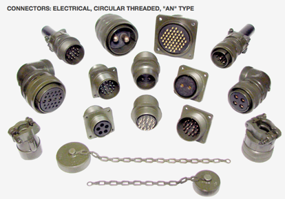 MILSPEC Connector Receptacles and Plugs