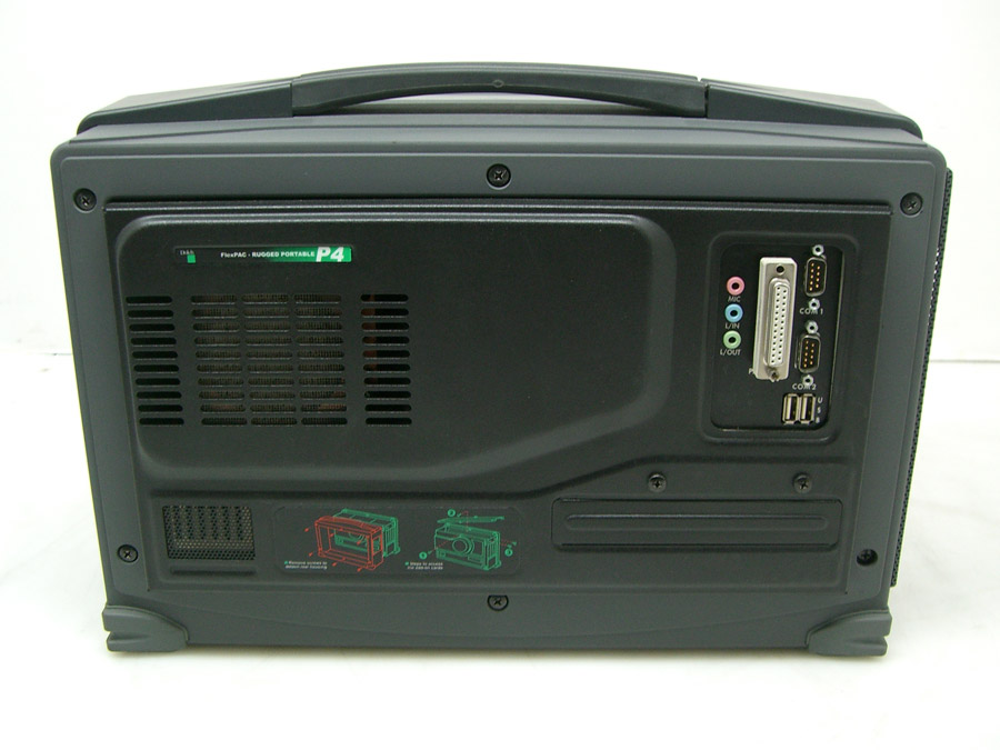 Dolch FlexPAC rear Pentium 4 version