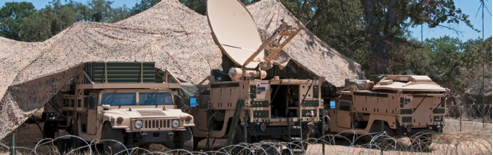 Fully deployed command center for C4ISR