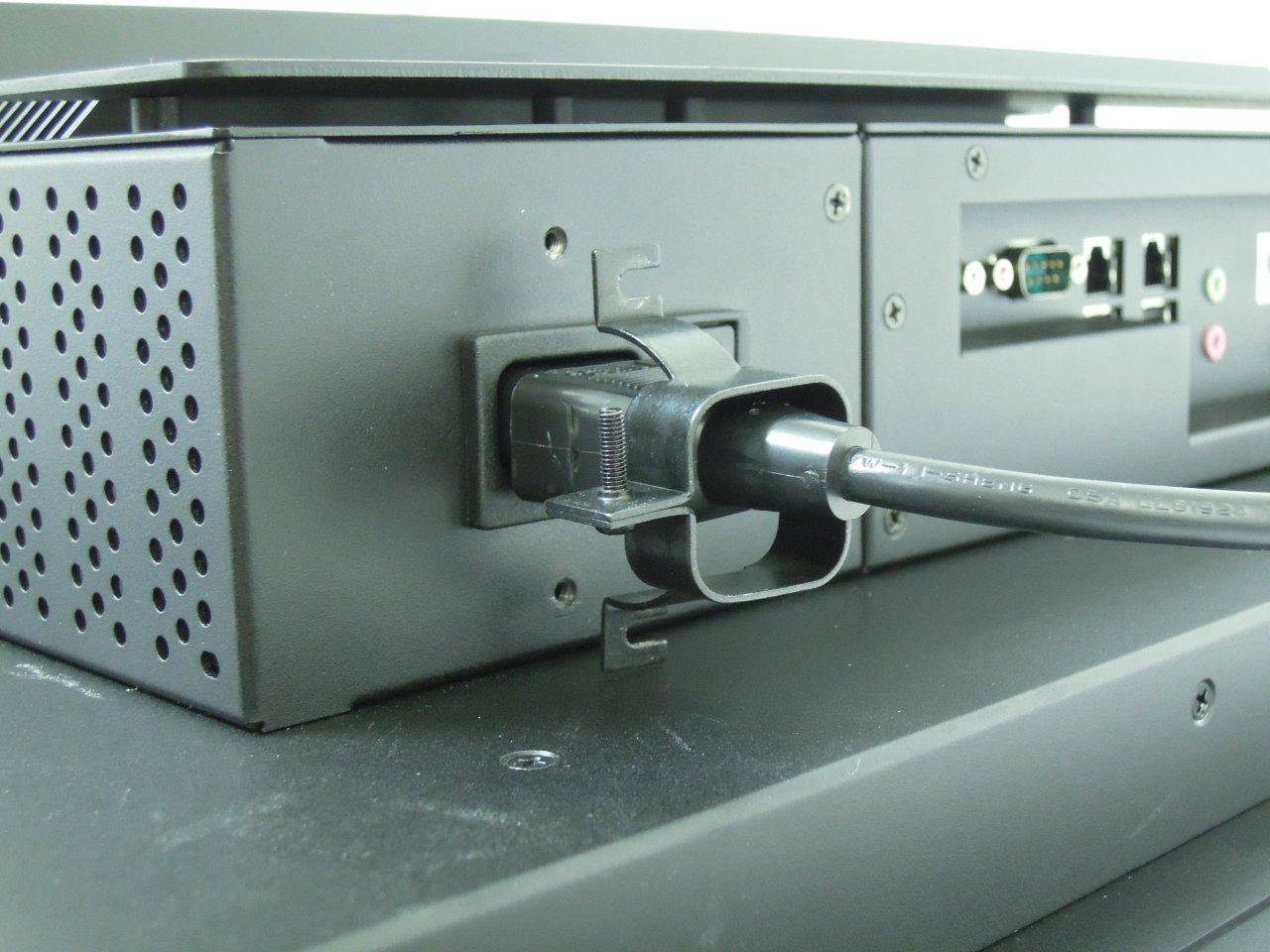 Panel Mount Computer with captive power cable