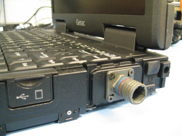 Mil-Spec Connector on Getac B300