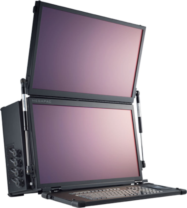rugged lunchbox computer server with 8 gigabit lan ports acme megapac. Black Bedroom Furniture Sets. Home Design Ideas