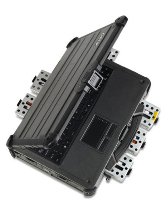 Removable HDD in a portable server