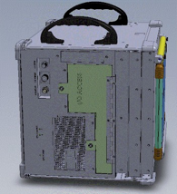 Lunchbox VME Computer Left Side View