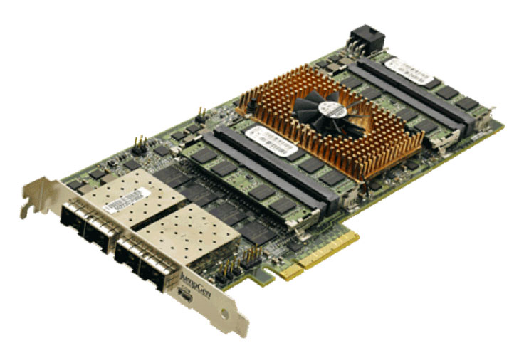 JumpGen Systems R4xx Packet Processor Card: PE-111 PCIe Broadcom XLP