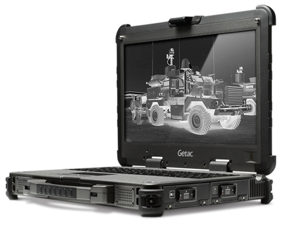 Getac X500 now available with Night Vision Mode (nvg compatible laptop)