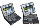 Convertible rugged notebook / tablet