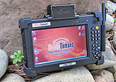 seven inch ruggedized tablet