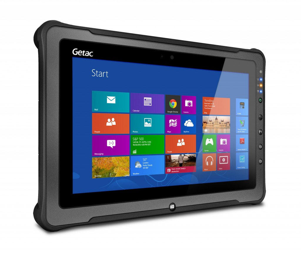 "Rugged windows tablet with 11.6"" display"