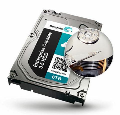 "3.5"" 6TB Enterprise HDD shows seven platter design"