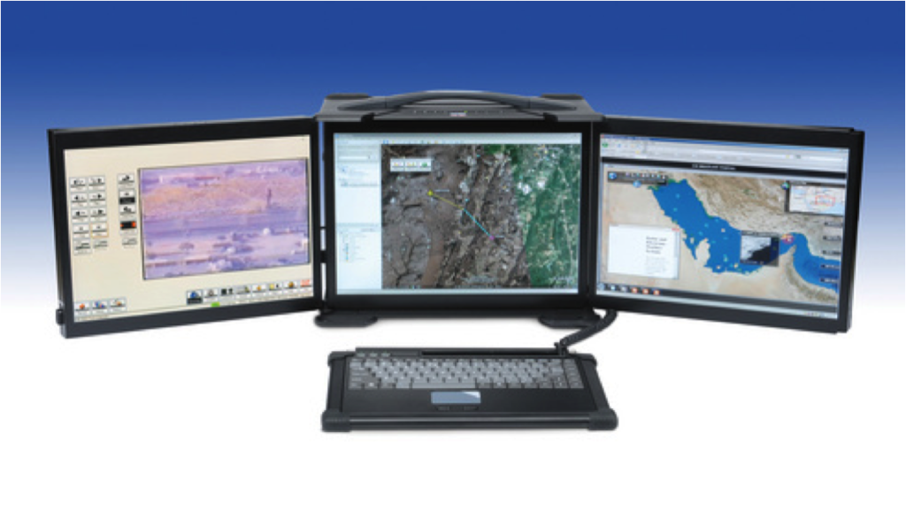 The first rugged workstation deployed with the 5th Fleet