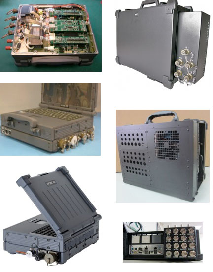 Computer Based Test Equipment In A Rugged Portable