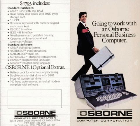 Osborne 1 The First Rugged Portable Computer